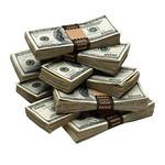 Cash-stack-piles-hundreds-bills